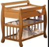 solid wood baby changing table--pine,birch,ash ...wood for choice