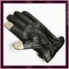 V0233 Ipad touch leather gloves for men