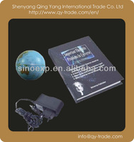 magnetic levitating floating roating world globes for promotion