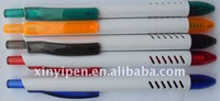 Hot sale latest retractbale plastic ballpen XY-6353