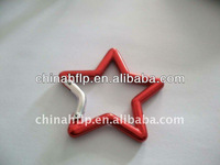 aluminum star shaped carabiner
