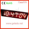 alibaba express 4inch indoor red brightness adjustable digital alarm clock