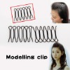 Bang Fringe Hair Style Favor Curve Clip Pin Invisible Black Mini Easytouse