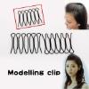 Bang Fringe Hair Style Favor Curve Clip Pin Invisible Black Mini Easytouse