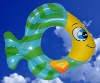inflatable fish swim ring,inflatable fish shape swim ring,inflatable swim ring in fish shape