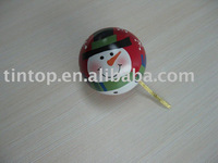 Christmas tin ball