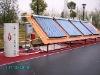 closed loop heat pipe split solar water heater