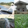 Solar agricultural water treatment system