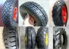 rubber wheel various pattern 3.00-4