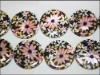 30mm fashion shell beads
