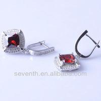 silver earrings sterling silver earrings cheap silver earrings with gem stones