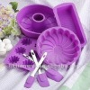 Promotional ilicone utensils/food silicone rubber kitchen utensils