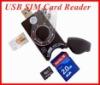 SIM card reader/ memory card reader