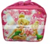 High Quality Nylon Cartoon Tinkerbell Fairy Lunch bag S08