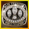 49ers champions silver 925 ring, 3D design ring