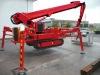 Crawler mounted platform