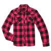 2012 fashion women check shirt