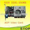 GeForce FX5500 128MB DDR AGP Graphics Video Card