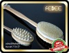 HOT 2 Functions Long Handle Wooden Bath Brush