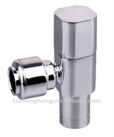 C37700 brass Chrome plated Angle Valve