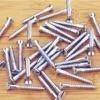 zinc-plated wood screw
