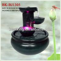 decorative waterfall fountain BK-BJ1305, battery fountain