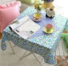 Printed Square Tablecloth