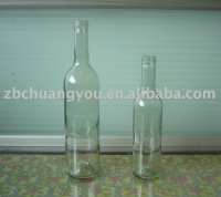 clear glass wine bottle(cw33)