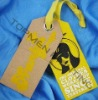Eco-friendly Paper Hang Tag Printing for Garment