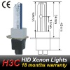 H3C ceramics base 5000k HID lamp