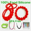 Fashion Silicone Bracelet with Different Style Bracelet and Bangle Can Customed Colours and Style