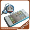Cute Retractable headset for iphone ipod