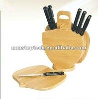 wooden knife/cutter rack