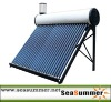 Integriative Non-pressurized solar water heater SD-T with assistant tank 5L