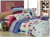 100% Cotton Printed bedding set.