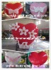 valentine's day use inflatable heart for decoration