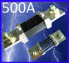 500A 75mV DC current shunt resistor for amp panel meter