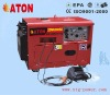 ATON 4.5~5kw air-cooled silent diesel welding generator