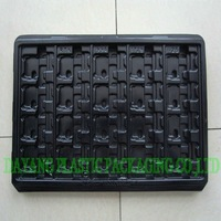 PVC plastic tool tray for electronic goods