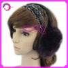 Knitted earmuff hat pattern RQ-E07