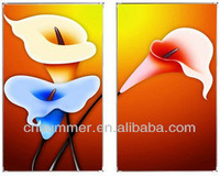 Christmas gift carbon crystal infrared electric heating painted panel