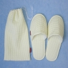 Cotton waffle hotel slippers pack (HYW192)