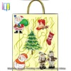 Noticeable x'mas handmade gift paper carrier bag