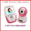 New 2.4GHz baby monitor video night vision