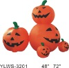 120cm,180cm inflatable halloween pumpkin group