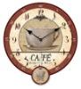 hanging wood pendulum clock decoration