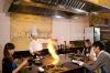 Japanese style restaurant teppanyaki grill
