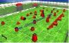 Hot sale Paintball bunker equipments,full set Inflatable paintball bunker(paintball-107)