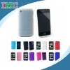 White Textured Silicone Skin Soft Cover Case for Apple iPhone 3G 3GS (IMC-TOIPH-0264)