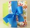 Elegant wish card